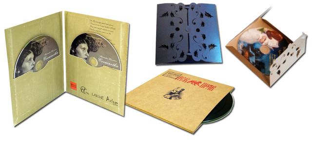 Печать вкладышей в компакт диски, печать конвертов для компакт дисков