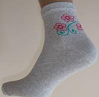 Носки Подростковые 22р цветок
