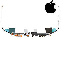 Шлейф для Apple iPad Mini 3 Retina, антенны GPS, с компонентами (оригинал)