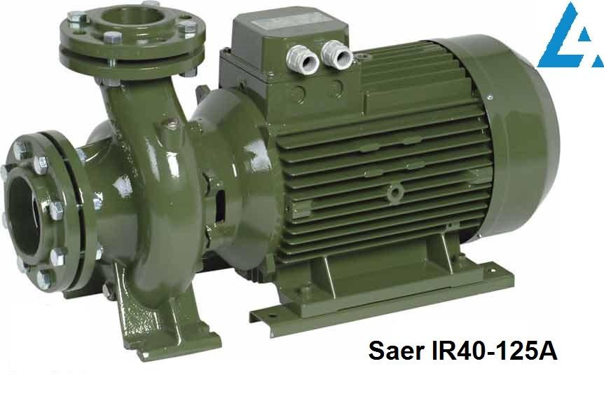 IR40-125А насос SAER