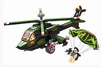 """Конструктор """"Военный вертолёт"""" 275 деталей Brick 818"""