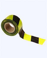 Лента оградительная ЛО-250 чёрно-жёлтая