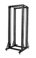 Стойка 33U. двойная. черная (без ног)