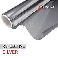 Установка солнцезащитной пленки R Silver 15, 20, 35, 50 (серебро)