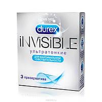 Презервативы Durex Invisible №3 ультра тонкие, фото 1