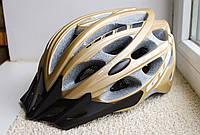 Велосипедный шлем GUB золотистый