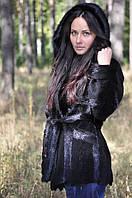 Пиджак женский из стриженой нутрии
