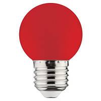 LED Лампа красная G45 1W E27