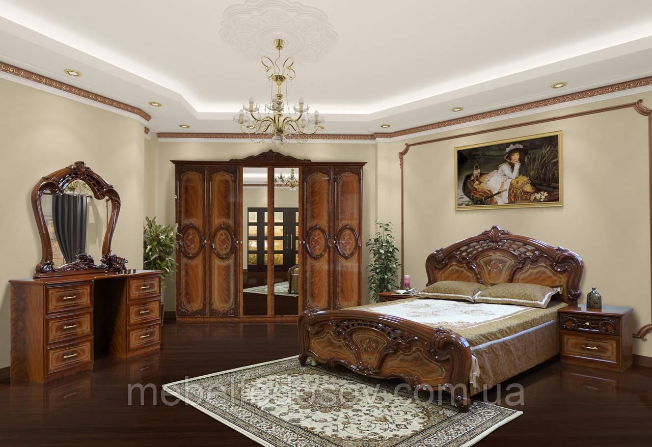 Спальня 6Д Кармен нова  (Світ мебелів)