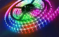 Светодиодная лента RGB 5050 IP65 защита. Упаковка 5м.
