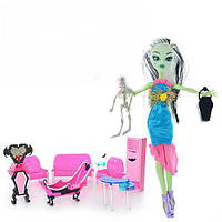 Кукла Monster High с мебелью