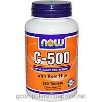 Витамин С-500 (с шиповником) (250таб.)