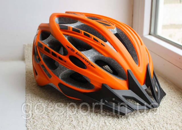 Велосипедный шлем GUB оранжевый
