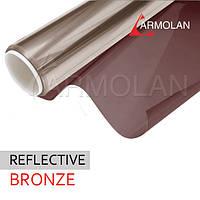 Установка солнцезащитной пленки R Bronze 10 ( бронза )