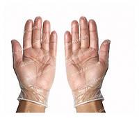 Виниловые перчатки, нестерильные S, M, L