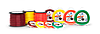 "Корд (леска)  для Мотокос, 3.0мм/ бухта 240м. (Круглый-Бордовый) ""Round"" ""Husqvarna"""