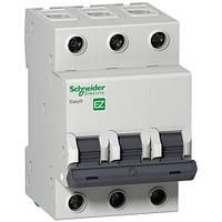 Автоматический выключатель Schneider Electric Easy9 3П 10А С 4,5кА 230В