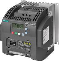 Регулятор оборотов электродвигателя Siemens SINAMICS V20 6SL3210-5BB21-5UV0 (1,5 кВт\1 фаза, 220 В)