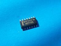 Логическая микросхема 74HCT125 SOIC14 - радиокомпонент, который широко используется в электронике.