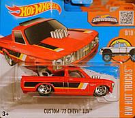 Hot Wheels базова модель Custom '72 Chevy Luv