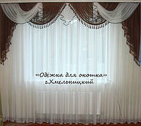 Ламбрикен шоколад КЛАССИКА 3м с бахрамой
