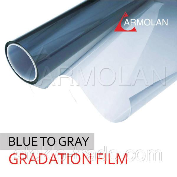 Установка солнцезащитной пленки R Blue 15 (голубой)