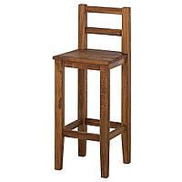 Стул барный деревянный 013