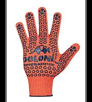 Перчатки трикотажные с ПВХ арт.526 Долони