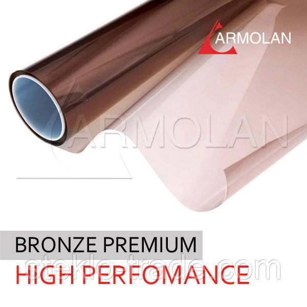 Установка металлизированной пленки HP Solar Bronze 20, 35 , 50