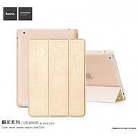 Чехол для iPad 2/3/4 - Hoco Cube series, золотистый