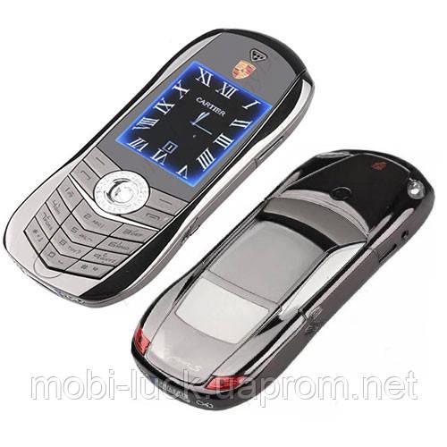 Китайский телефон-машинка  Porsche Cayenne Turbo с 2 сим, Мр3, Fm.