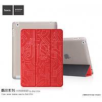Чехол для iPad 2/3/4 - Hoco Cube series, красный