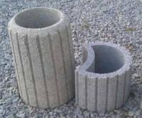 Элементы для благоустройства территорий бетонные: цветники, урны ФЭМ