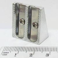 Точилка 16634_2 металл двойная уп12