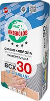 Клей для плитки Anserglob BCX-30, 25кг