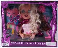 Голова Куклы манекен для причесок и макияжа 8898-2