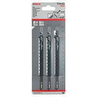 Пилки лобзиковые Bosch 3 шт T 344 D, HCS