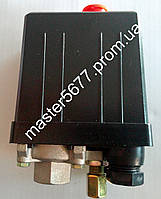 Автоматика для компрессора (пресостат) 220v, 1 выход