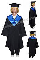 Мантия выпускника для ребенка рост 134