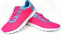 Женские, подростковые  кроссовки  Free Run 3.0, сетка, розовые, Р. 38 40 41