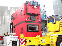 Промышленный водогрейный котел на щепе и биомассе Komkont CH Compact 2500 квт