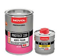 Novol грунт Protect 330 5+1 черный (1л +0.2л)