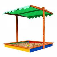 Детская Песочница 24 деревянная SportBaby