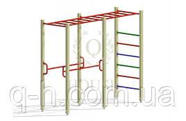 Комплекс гимнастический с рукоходом 2