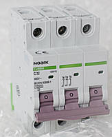 Автоматический выключатель 3Р  D6 Ампер