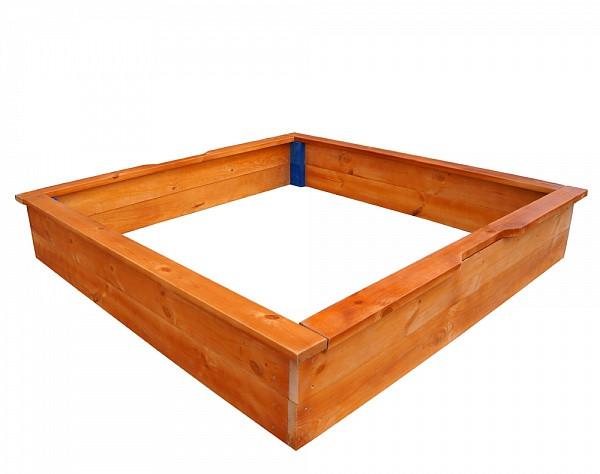 Квадратна пісочниця дерев'яна SportBaby