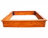 Детская Песочница 26 деревянная SportBaby