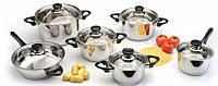 "Набор посуды ""Vision Premium"" 12 предметов 1112466 BergHOFF"