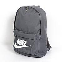 Практичный городской рюкзак Nike Украинского производства (серый)