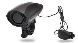 Велосипедный звонок / гудок электрический / 110 Дб / 5 видов сигнала / выносная кнопка